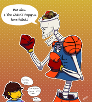 Date with Papyrus by Bitter-Bitter