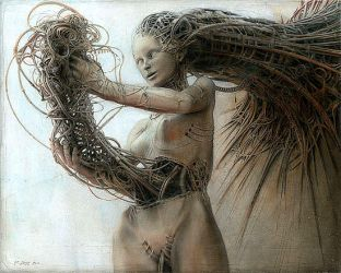Peter Gric - Gynoid III by QCC-Art