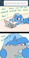 Ask Trixie - Rayo's Plead by TheParagon