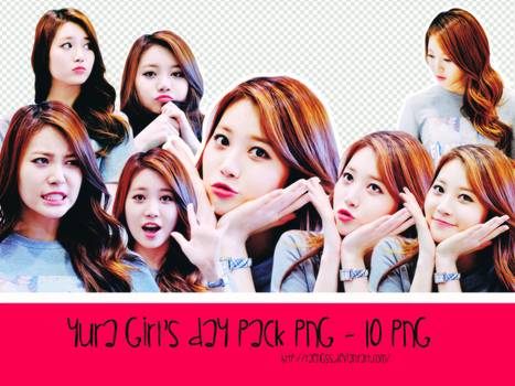 Yura Pack PNG ByTaengss by taengss