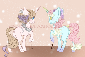 Pastel Pony Auction [CLOSED] by SilentWulv