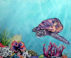 Sea Turtle by BrazenDesign