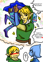 Link hold up with Fi by Christy58ying
