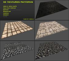 Free 3D textures pack 06 by Yughues