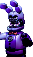 Funtime Withered Bonnie - COMMISSION by PrimeYT