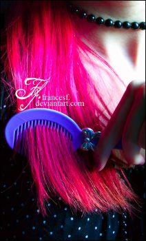 Barbie's candy hair by FrancesF
