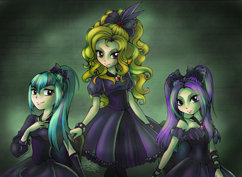 The Dazzlings by Midnameowfries