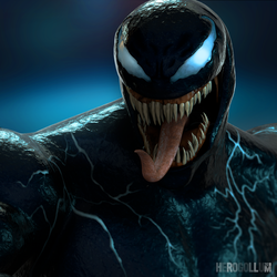 VENOM - 3D Model by HeroGollum