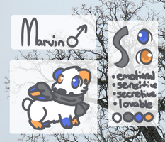 Marvin ref by Cushies