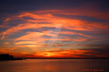 Sunset Over Barnegat Bay