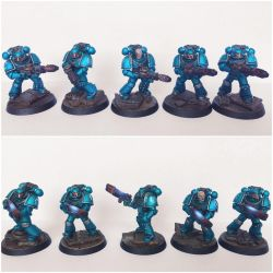 Pre-Heresy alpha Legion Support Squads by ak1508