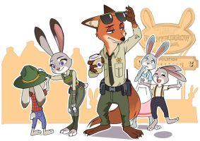 Try Everything: BSD(Bunnyburrow Sheriff) by Lleu-Momiji