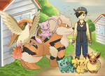 Pokemon Trainer Jade out in the Country by multificionado