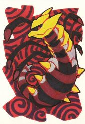 giratina atc by glowyrm