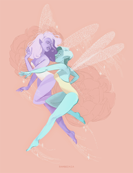 Fairies by solardiente
