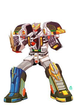 Commissions : Megatigerzord by sharknob