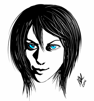 blue eyes by Sakkigami