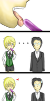 Alois loves popsicles by Petra1991