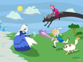 Adventure Time - Wallpaper by mike-loscalzo
