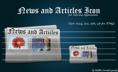 News and Articles Icon by wwalczyszyn