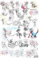 Compilation Of Doodles by DrawerMich