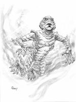 the Creature by TomRaney