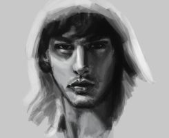 Face speed paint practice SAI by Vimes-DA