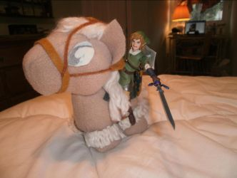 My Little Epona Charging Into Battle by ZeldaQueen64