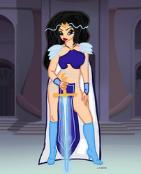 Miss Magix round 2 - Moon Knight from Solaria by HeartStorm4ever