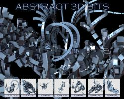 UNRESTRICTED - Abstract 3D Bits by frozenstocks