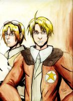 Hetalia: The American Brothers by witch-girl-pilar