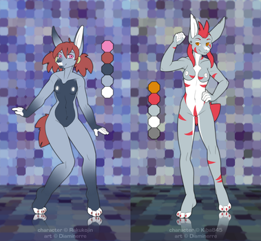 [ADOPT] Bunnies references by Diaminerre