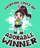Adorable Winner by Mewitti