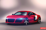 Audi R8 Red Velvet by OverdozeCreatives
