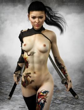 Assassin Yakuza by phdemons