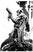 Hellboy by kevinesque