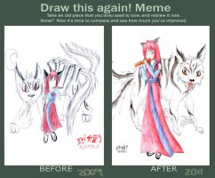 Before and After Meme by mariheal
