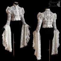 shrug victorian art nouveau lace romantic by SomniaRomantica