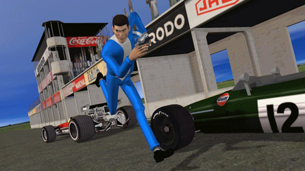 Lupin the third : 3d model for Poser Anime WIP #01 by freeReef