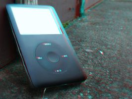 Ipod Classic - Anaglyph by NewWorldPunk