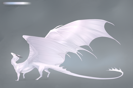 Dragon Design | Commission by Haskiens