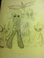 A Pokemon Team for BEN by Cynder-Yaoi-Hands