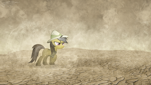 Daring Do - Through The Sandstorm by Jamey4
