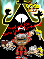 The Cipher House: Trade it for more than the World by ArtIsMyMarc