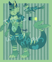 Quadruple Armed Sharkwolf - BID CLOSED! by NotAdopts