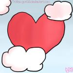 Heart and clouds by Trollan-gurl22