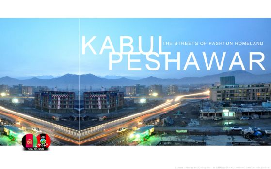 Kabul - Peshawar early evening by Asil-Afghan