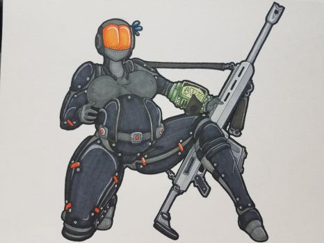 Request: Stealth Armor Colored by jishintai