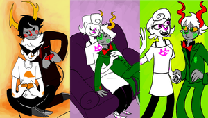 :: Homestuck: Calliopes Art 2 :: by TheBealeCiphers