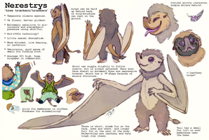 Nerestrys: HerApogee semi-open alien species! by Jesseth